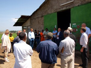 Dutch campaniles visited commercial dairy Farms and processing plants at Sululta may 19, 2018